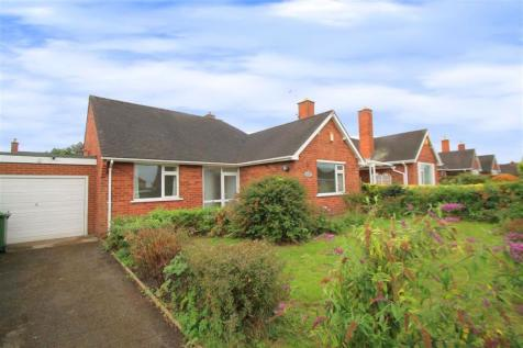 Kendal Way, Wrexham. 3 bedroom detached bungalow for sale