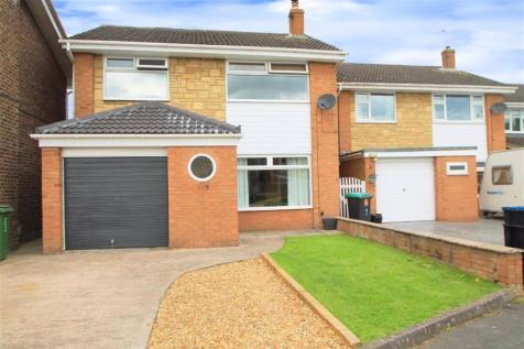 Yarwood Drive, Wrexham. 3 bedroom detached house