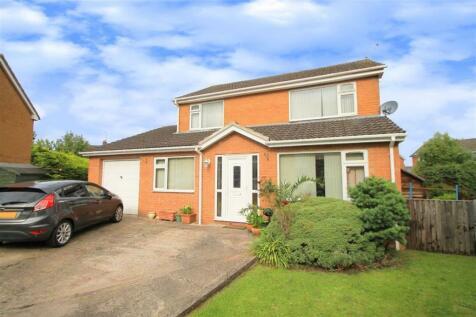 Cedar Close, Borras, Wrexham. 4 bedroom detached house for sale