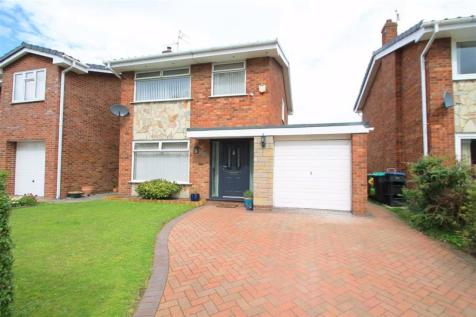 Ffordd Owain, Wrexham. 3 bedroom detached house