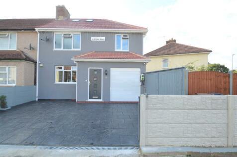 Elstow Road, Dagenham. 4 bedroom end of terrace house