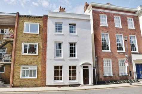 High Street, Old Portsmouth. 4 bedroom end of terrace house for sale