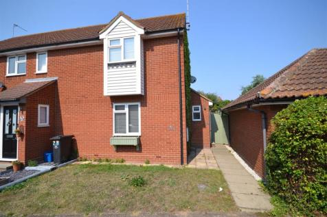 Tattersalls Chase, Southminster. 2 bedroom end of terrace house
