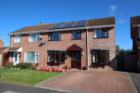 Pyrland, Durleigh, Bridgwater, TA6. 4 bedroom semi-detached house for sale
