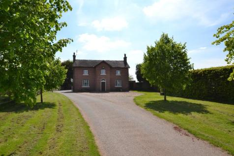 Chestnut House, Woodseaves, Market Drayton, TF9. 5 bedroom farm house for sale