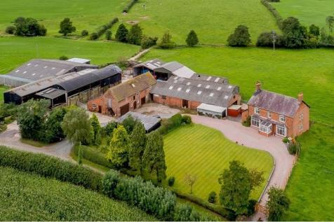 Elm House Farm, Burleydam, Whitchurch, SY13. 4 bedroom character property for sale