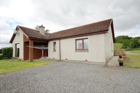 Braeside, Heights of Fodderty, STRATHPEFFER, IV14 9AF. 4 bedroom detached bungalow