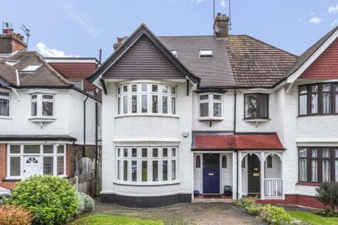 Torrington Park, North Finchley. 5 bedroom semi-detached house for sale