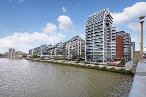 Battersea Reach, London. 3 bedroom apartment