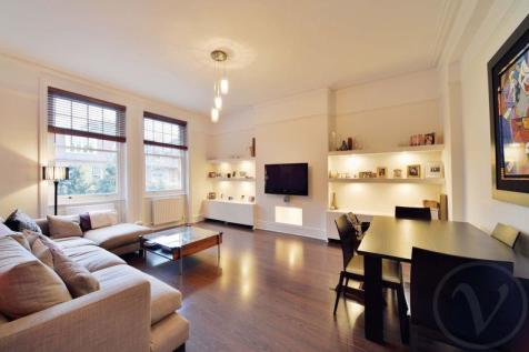 Aberdare Gardens, South Hampstead, London, NW6. 3 bedroom flat