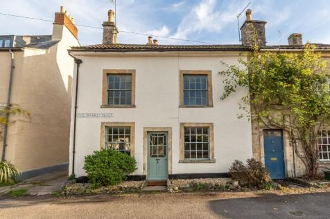 Market Place, Nunney, Somerset, BA114LY. 3 bedroom end of terrace house for sale