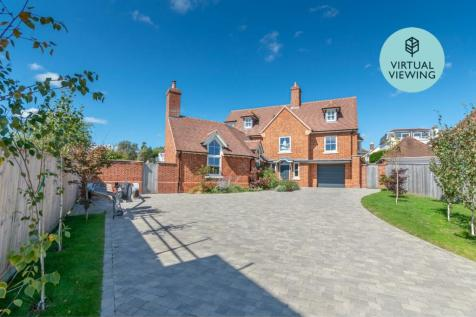 West Hayes, Lymington, SO41. 4 bedroom detached house for sale