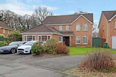 Woodland View, Church Village, Pontypridd, CF38. 4 bedroom detached house for sale