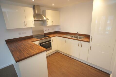 Spires view, Lintott Gardens, Warrington. 2 bedroom apartment