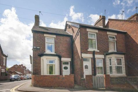 George Street, Riddings. 2 bedroom end of terrace house