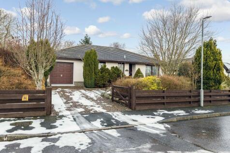2 The Croft, Nether Blainslie, Galashiels, TD1 2QF. 4 bedroom detached bungalow for sale