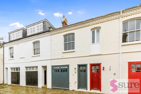Eaton Grove, Hove. 3 bedroom mews house