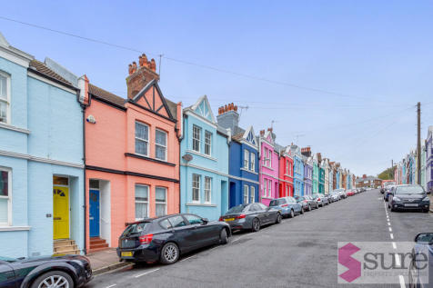 Blaker Street, Brighton. 5 bedroom terraced house