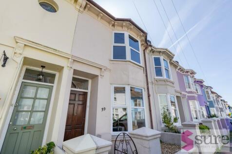 Windmill Street, Brighton. 4 bedroom terraced house