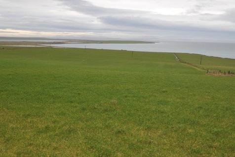 2 Potential Building sites with land, 4.75 acres or thereby close to Community Centre, Stronsay, KW17 2AE. Plot for sale