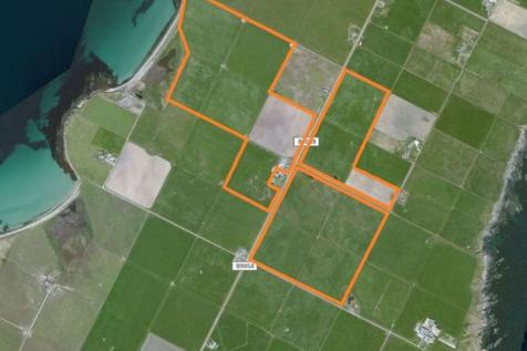 Lands and steading of Lucknow, 118.7 acres or thereby, Shapinsay, KW17 2EB. Farm land for sale
