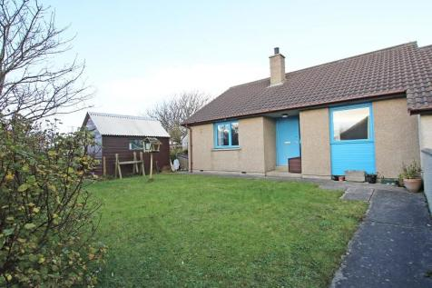 16 Station Square, St Mary's Holm, KW17 2SE. 2 bedroom semi-detached bungalow for sale