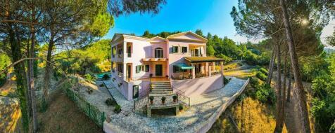 Viros, Corfu, Ionian Islands. 4 bedroom villa