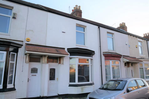 Princes Road, Middlesbrough, TS1. 4 bedroom terraced house for sale