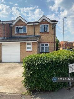 Webster Close, Hornchurch, RM12. 4 bedroom end of terrace house