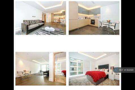 Radnor Terrace, London, W14. 1 bedroom flat