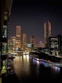 Millharbour, London, E14. 2 bedroom flat