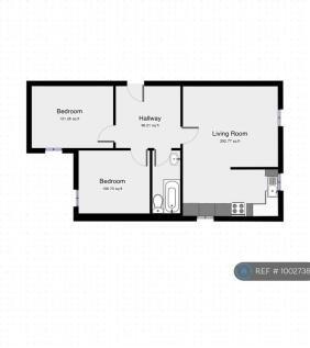 Parsonage Road, Grays, RM20. 2 bedroom flat