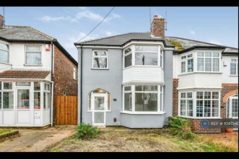 Lindridge Road, Erdington, B23. 3 bedroom semi-detached house