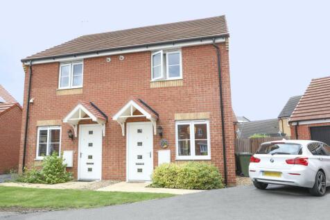 Hempstead, Peterborough, Cambridgeshire PE7. 2 bedroom semi-detached house