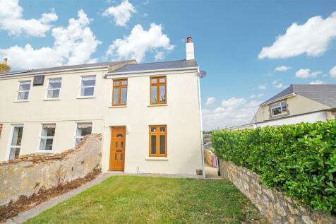 La Trigale, Alderney, Guernsey. 3 bedroom end of terrace house for sale