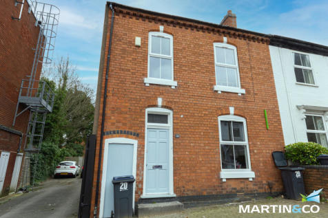 South Street, Harborne, B17. 3 bedroom end of terrace house