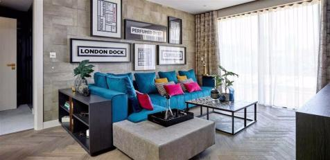 9 Arrival Square, London. 3 bedroom apartment