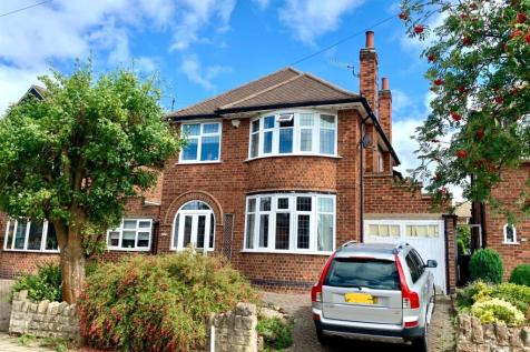 Repton Road, West Bridgford. 4 bedroom detached house for sale