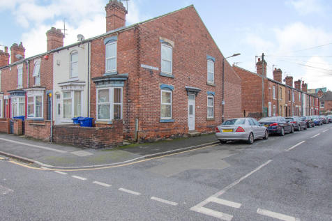74 Christ Church Road, Doncaster, DN1. 3 bedroom end of terrace house for sale