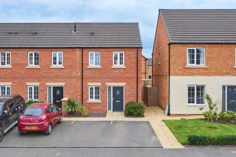 Angell Drive, Market Harborough. 2 bedroom semi-detached house