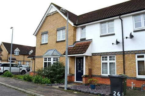 Gulls Croft, BRAINTREE, Essex. 2 bedroom terraced house