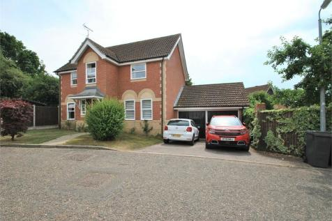 Jersey Way, BRAINTREE, Essex. 4 bedroom detached house