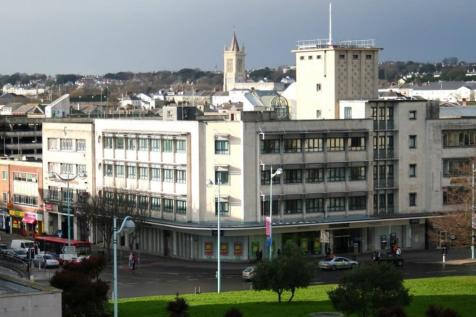 Radiant House, Derry`s Cross, Plymouth. 2 bedroom apartment